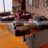 resturant furniture / dining room furniture bench seat / modern european restaurant furniture / rustic restaurant furniture