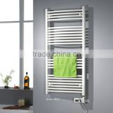 HB-R0218W-A electric element heated steel ladder towel warmer thermostat towe rails radiator
