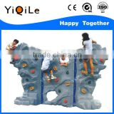 High quality Plastic Outdoor playground kids rock climbing holds