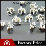 factory manufacturer 925sterling r silver elephant jewelry findings&components
