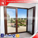 Customized Sliding Aluminum Window and Door with Thermal-Break, Wood Grain and Powder Coating