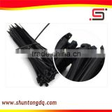 wire black nylon soft zip ties /cable tie machine China manufacturers
