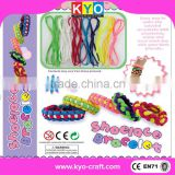 DIY Friendship Bracelet, diy rubber band bracelet loom kit, loom and beads jewelry making kit