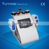 Portable beauty equipment 6 in 1cavitation vacuum rf weigh loss cavitation machine slimming machine ultra shape slimming system