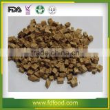Natural Freeze Dried Beef Cubes, Pieces