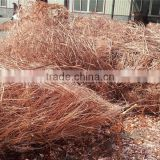 Factory hot sale copper wire scrap millberry widely used for tube