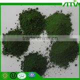 Pigment Chrome Oxide Green for paint and plastic