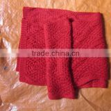 Women wool scarf, knitted scarf for WOMEN, fashionable product, handmade 100% from HuongDang Handicraft in Vietnam