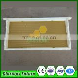China bulk supplies plastic bee hive frame with wax foundation assembled