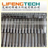 stainless steel spline shafts China manufacturing stainless steel spline shaft