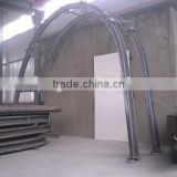 Easy to assemble underground steel arch support