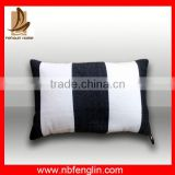 china best supplier wholesale black and white pattern design outdoor hanging chair cushion