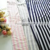 Styliest Breathable With High Quality 100% Merino Wool Knitted Stripe Fabric