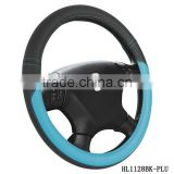 new style fanshionable car steering wheel cover with blue and black