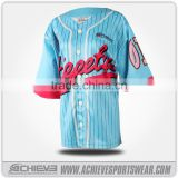 Custom baseball jersey OEM custom fashion baseball jersey cheap baseball jerseys made in China