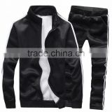 mens suit/warm male sport fleece suit/male Cardigan men's fleece suits autumn leisure coat