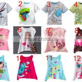 new arrival baby girls and boys cartoon short sleeve t shirts kids cartoon summer tops children jumping beans t-shirts