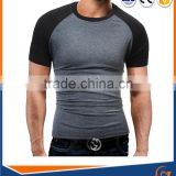 OEM Shirt 100% Bamboo Clothing Men's Plain Round Neck Bamboo T-Shirt