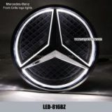 Mercedes-Benz Front Grille logo LED Light Badge Light Auto Led Lights Auto Emblem Led Lamp
