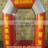 Outdoor 2.5m High inflatable money machine,Inflatable cash machine,Inflatable money booth for speed advertising