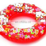 Inflatable Hello Kitty Kids swimming ring