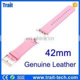 Genuine Leather Watch Band Watchband for Apple Watch 42mm