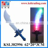 Eco-Friendly flash toy sound and light plastic flashing sword