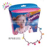 NEW!Fashion jewellery kit-DIY beads set /make your own necklace/diy necklace kit for kids -68101