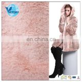 100% Polyester Steam Brush PV Plush fur fabric