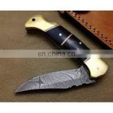 wholesale Damascus knifes - Full of Damascus Steel Karambit Knife