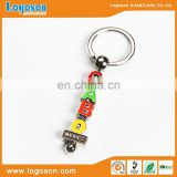 Alibaba best selling keychain letter Mexico dice keyring