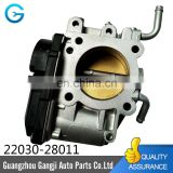 Stock 45mm 50mm 60mm Throttle Body Valve OEM 22030-28011 fits for TOYOTAS Caldina Rav4 Vista Gaia Premio Nadia Noah