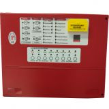 Automatic Extinguisher Control Panel Fire Suppression Panel 4 zones for gas extinguishing system