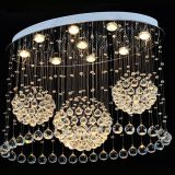Hot Saled LED Crystal Chandelier crystal ceiling Lamp for living room and dining room 7010