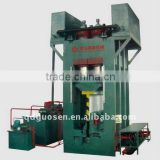 2500T cold press machine for strand woven bamboo panel