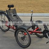 New Design Folding Nylon Mesh Seat Recumbent Trike