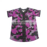 Cheap hot sale dry fit polyester blank baseball jerseys wholesale