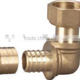 brass press fitting for pex tube