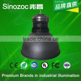 Sinozoc Hot sale UFO design fins cooling led high bay light 50W 100 watt led industrial high bay light led high bay lamp