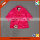 Cheap price girls fall coat good quality children garment in stock wholesale (Ulik-A0335)