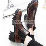 Platform sole thigh high high platform sexy lady heel deep brown boots