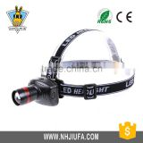 JF 3W LED / third telescopic zoom headlights light outdoor fishing camping light searchlight headlights