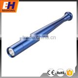 3W LED portable riot baton flashlight emergency equipment with self defence function