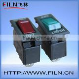 FILN RED 12V Led protector on off thermal rocker switch with overload protected