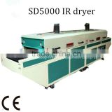China supplier industrial drying oven screen printing machine dryer ir heaters for glass screen printing drying SD5000