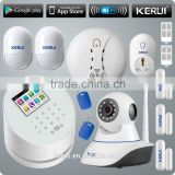 INquiry about KERUI new Wifi based support IOS Android phone control gsm intelligent alarm system