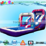 hot sale sea-maid inflatable pool water slide for sale , inflatable kids swimming pool,used commercial water slide                                                                                                         Supplier's Choice