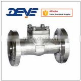 Stainless steel Forged Flange Ends Check Valve