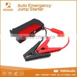 Lithium Battery 12V Mini Jump Starter Car Power Bank With Air Compressor