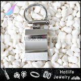 new product 2014 men jewelry high polish stainless steel Keychain                                                                         Quality Choice